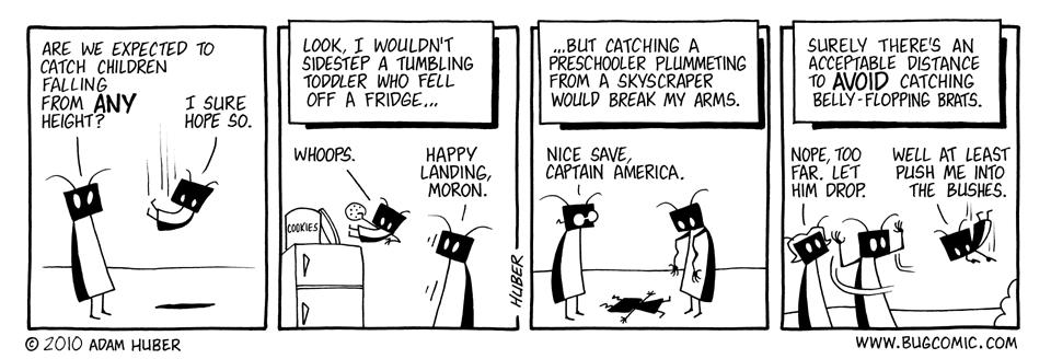 Plunging Prepubescents