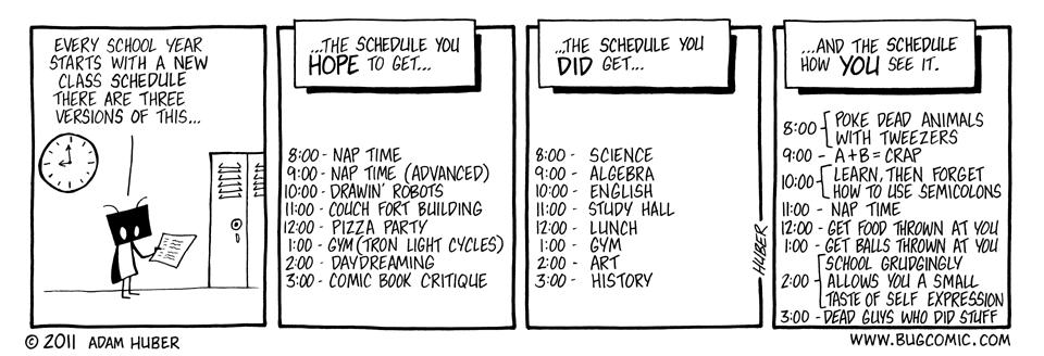 Scheduling Conflict
