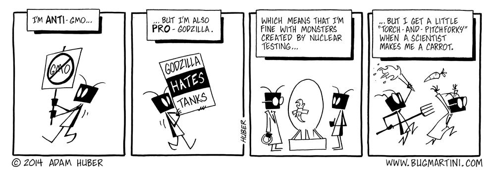 Godzilla VS GMOera