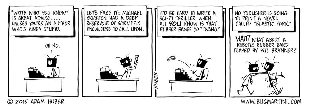 Writer's Blockhead