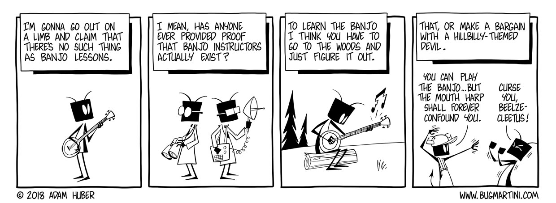 Banjo is a No Go
