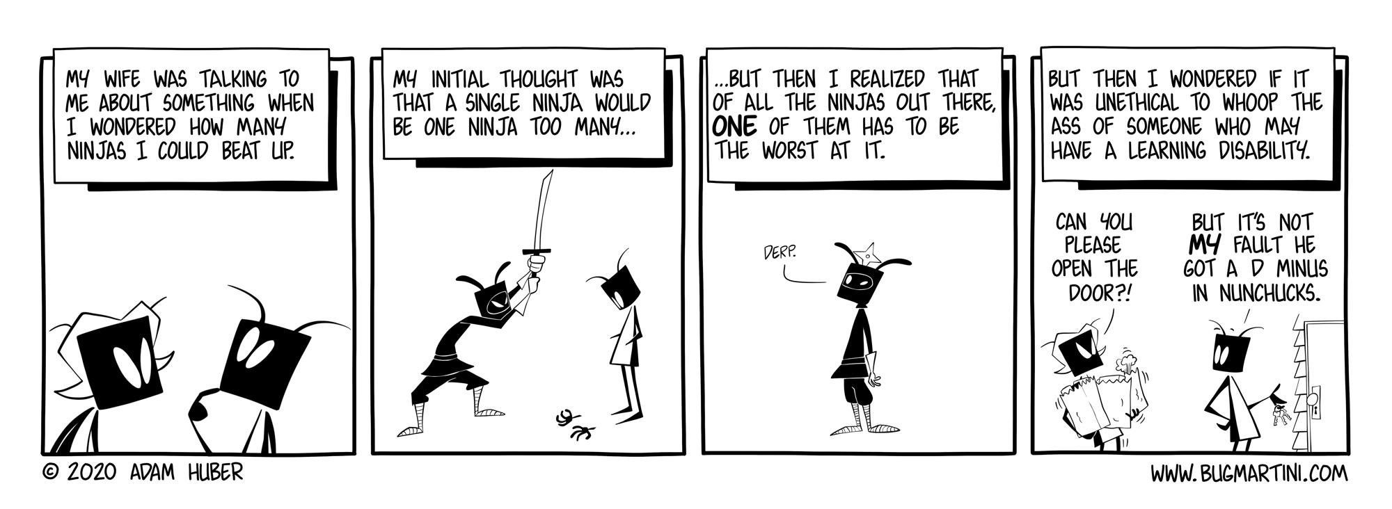 The Ninja Challenge